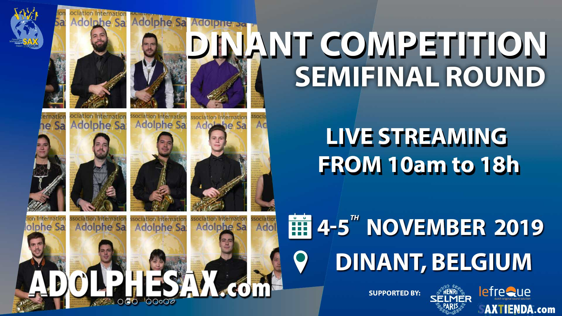 Adolphesax Saxophone competition semifinal